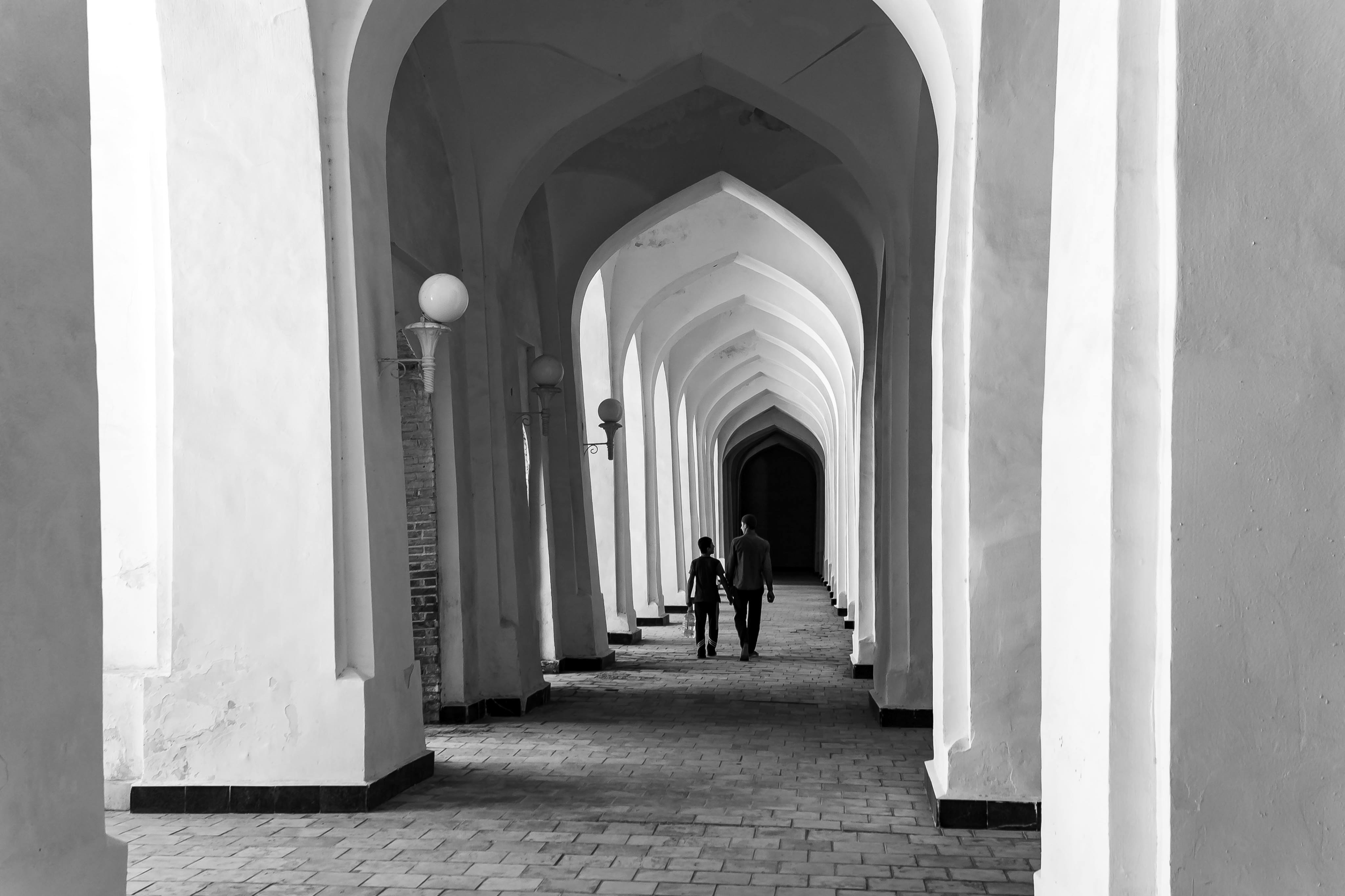 Säulen Kalon-Moschee Buchara Usbekistan