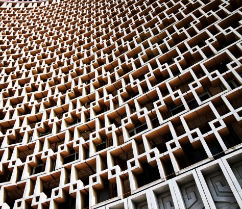 Hotel Usbekistan Taschkent Stanislav Magay Architektur