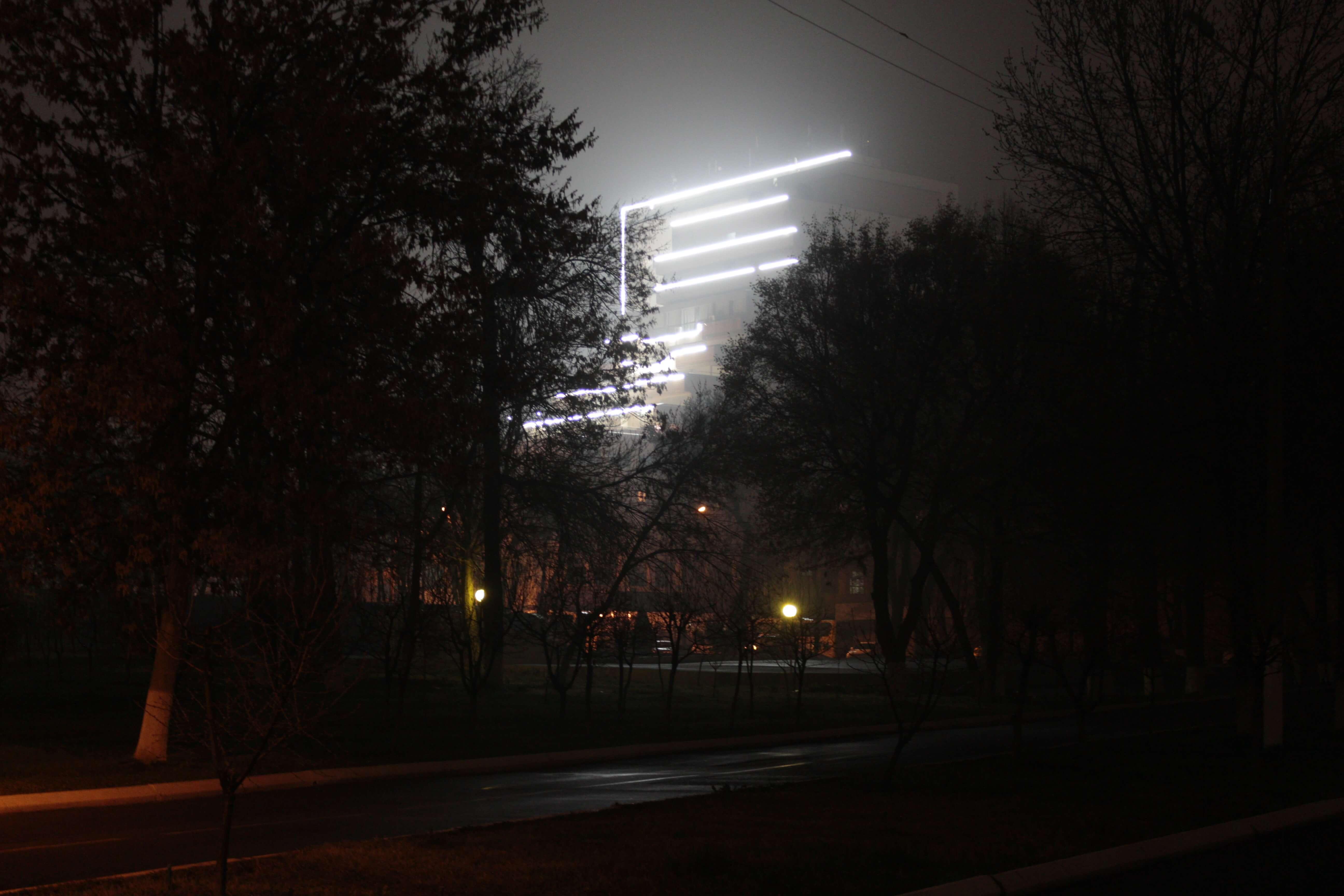 Taschkent Lichter Usbekistan Stanislav Magay