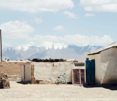 Tadschikistan Pamirgebirges Bergkette