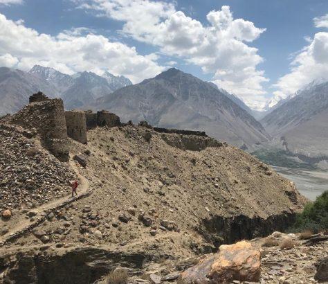 Tadschikistan Wachankorridor Afghanistan Yamschum