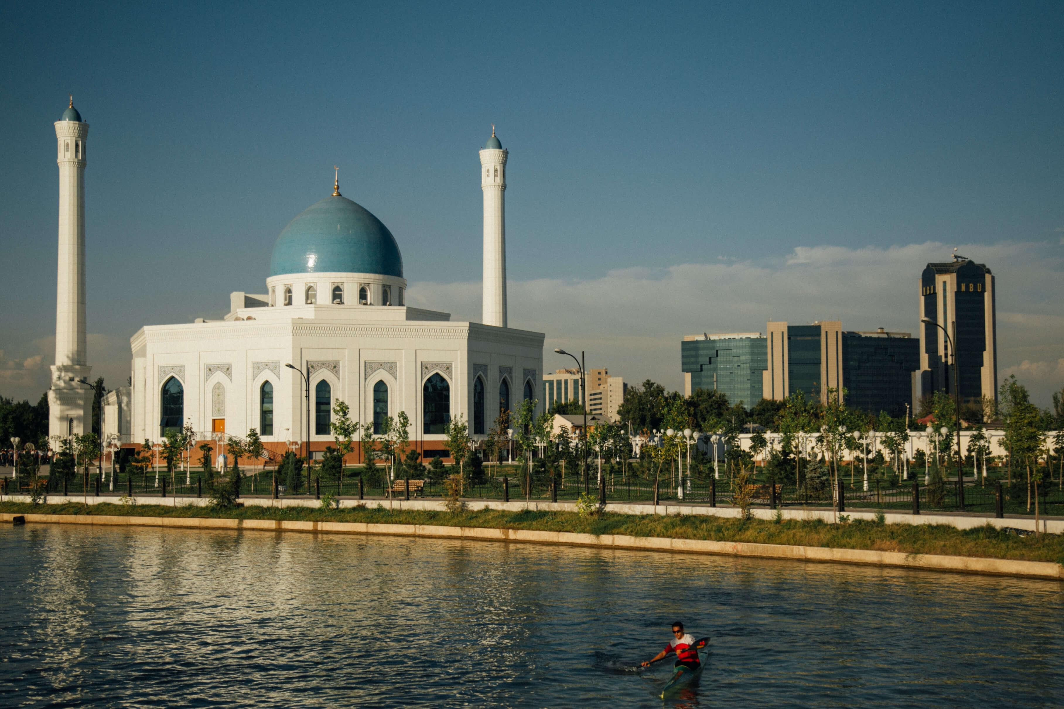 Stanislav Magay Anor-Kanal Taschkent Usbekistan Minor-Mischee