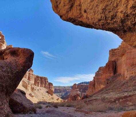 Blick in den Scharyn Canyon