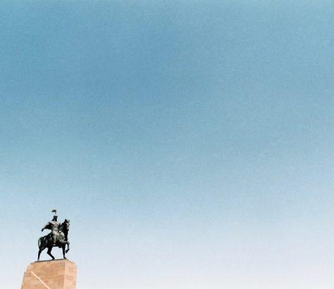 Manas Bischkek Ala-Too Kirgistan Statue