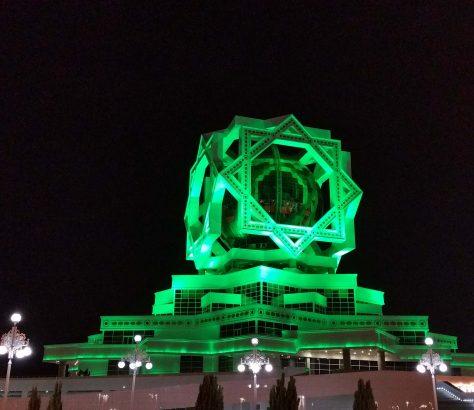 Aschgabat Turkmenistan Hochzeitspalast Architektur