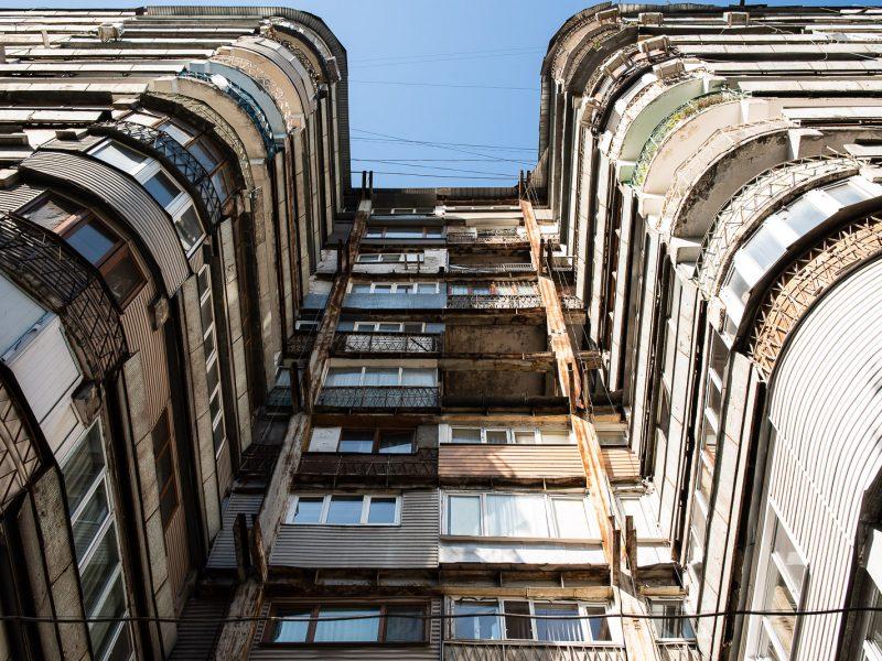 Almaty Kasachstan sowjetische Architektur