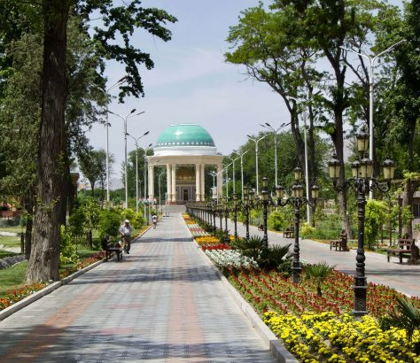 Kamoli-Chudschandi-Park Tadschikistan Chudschand