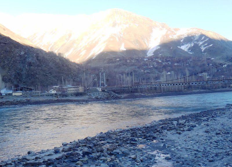 Qalaikhum Nusay of Darwaz Brücke