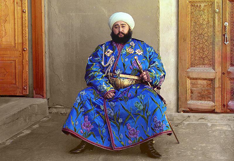Der buxorische Emir Alim Khan