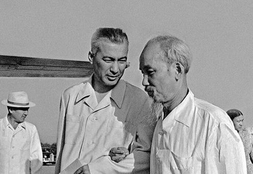 Rashidov und Ho Chi Minh
