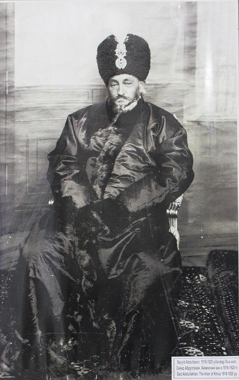 Der letzte Khan Khivas Said Abdulla Khan