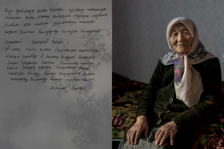 Porträt Frau Ala Kachuu Brautraub