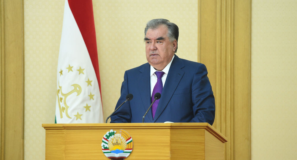 Tadschikistans Präsident Emomali Rahmon
