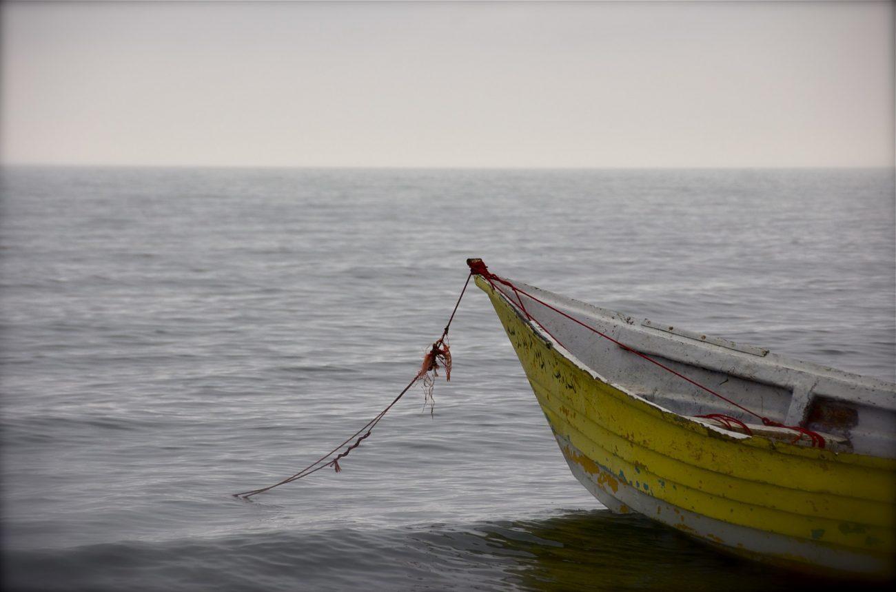 ein Fischerboot