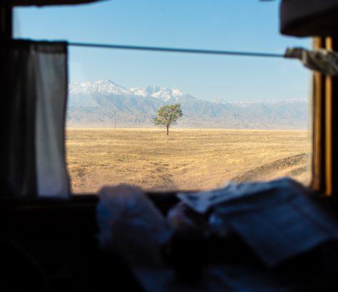 Tienschan Kasachstan Zug Antoine Béguier
