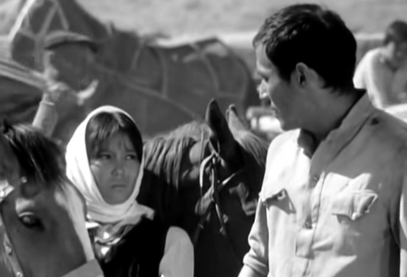 Dschamila und Danijar (Szene aus dem Film)