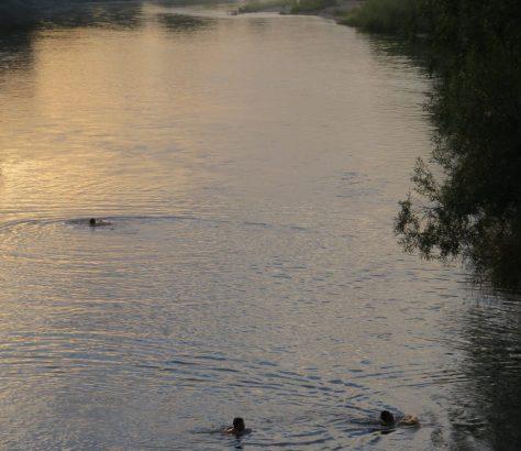 Semei Semipalatinsk Kasachstan Fluss Ertis Irtysch