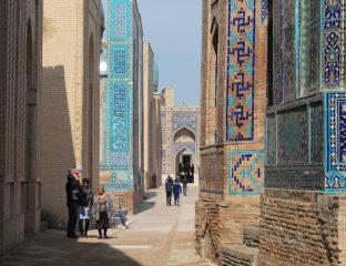 Shah e Zinda Samarkand Usbekistan