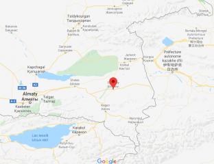 Landkarte der Region