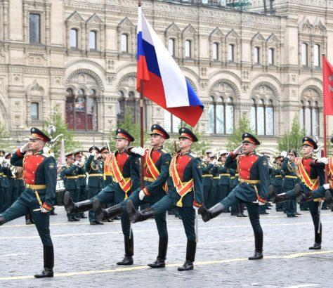 Parade Moskau 9 Mai