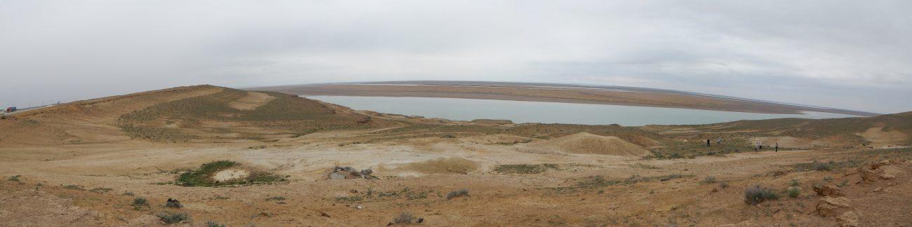 Panorama Amudarja Usbekistan Bukhara