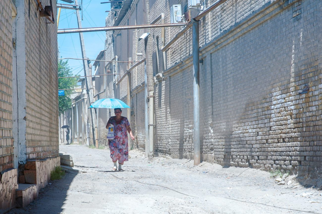 Usbekistan Buxoro Sommer Chilla