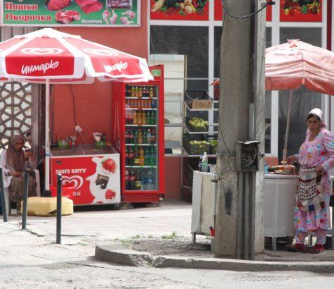Straßenverkauf Duschanbe Tadschikistan