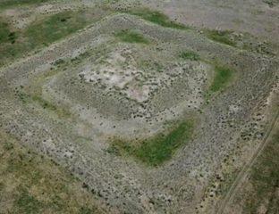 Ausgrabungsstätte Kasachstan