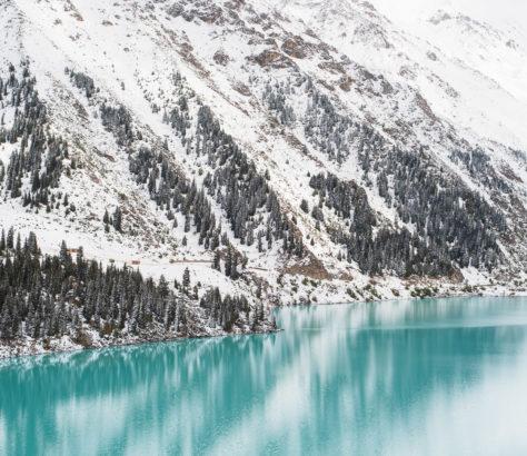 Almaty See Kasachstan