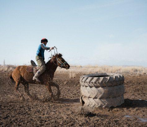 Kirgistan Naryn Kök-börü Théo Saffroy Pferdesport