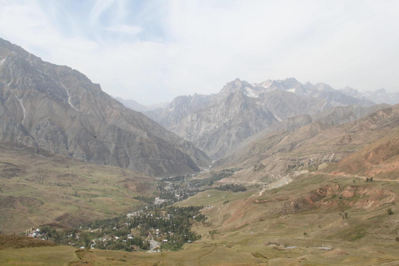 Tadschikistan Duschanbe Berge Landschaft