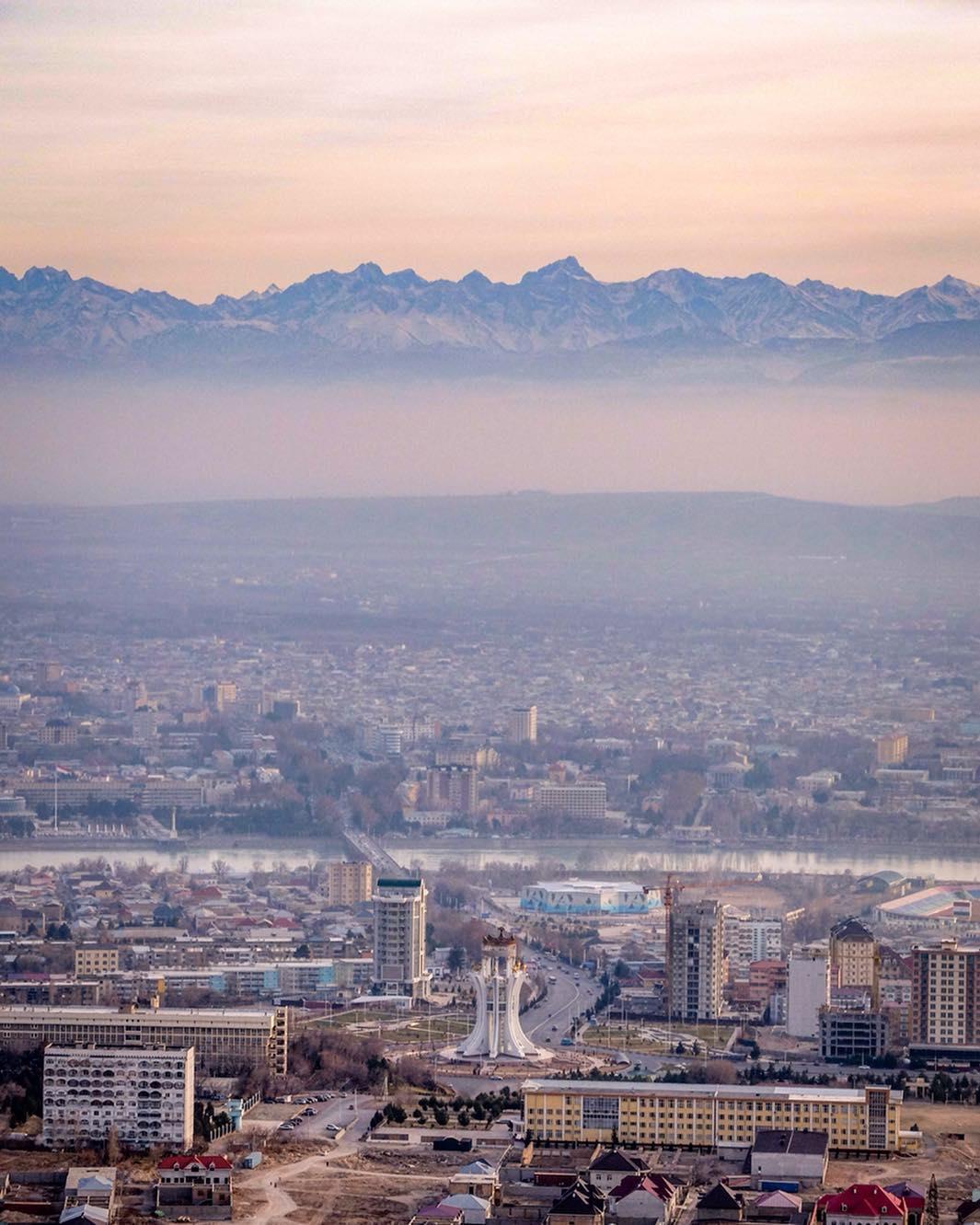 Chudschand Tadschikistan Berge