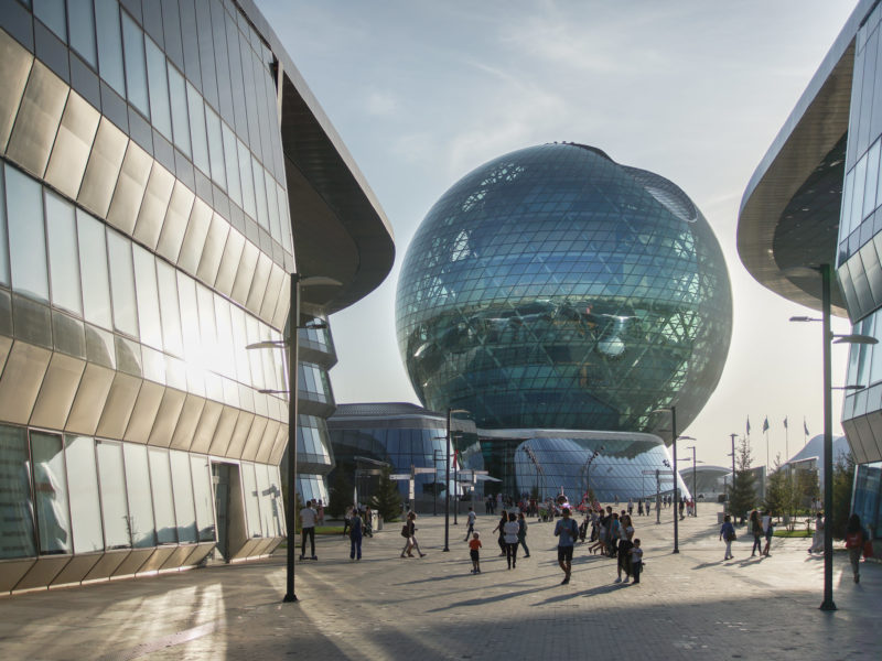 Nur Alem Kasachstan Expo 2017 Nur-Sultan Astana Kasachstan