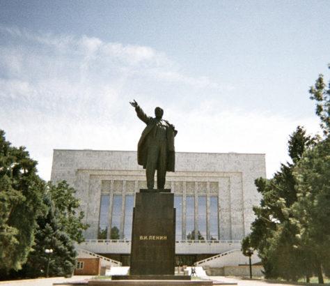 #Kirgisistan #Bishkek #Lenin #Architektur