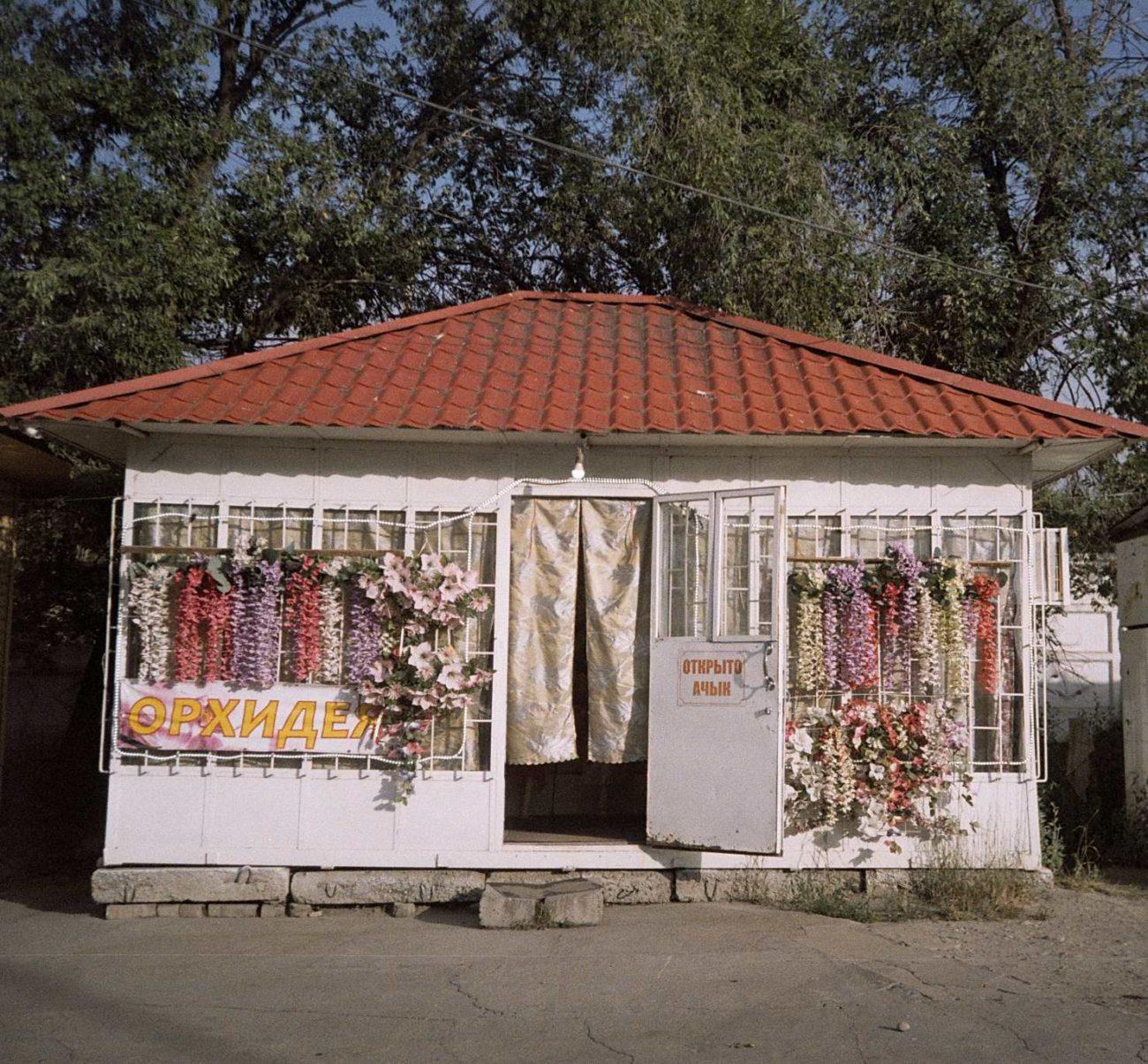 Unechte Blumen Laden Verkauf Karakol