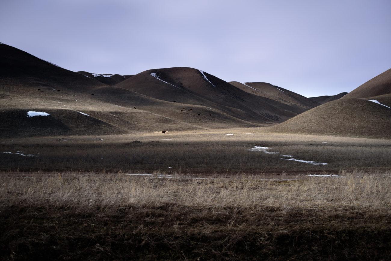 Kirgistan Landschaft Licht