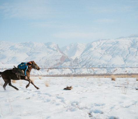 Kirgisistan Kök-Böru Naryn Nomaden