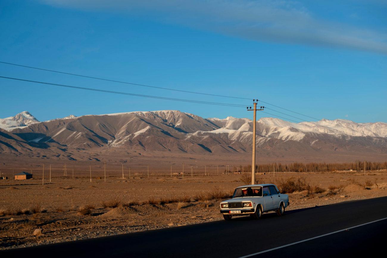 Landschaft Bild des Tages Kirgisistan Irina Unruh