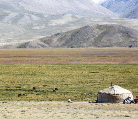 Tadschikistan Pamirgebirge Jurte