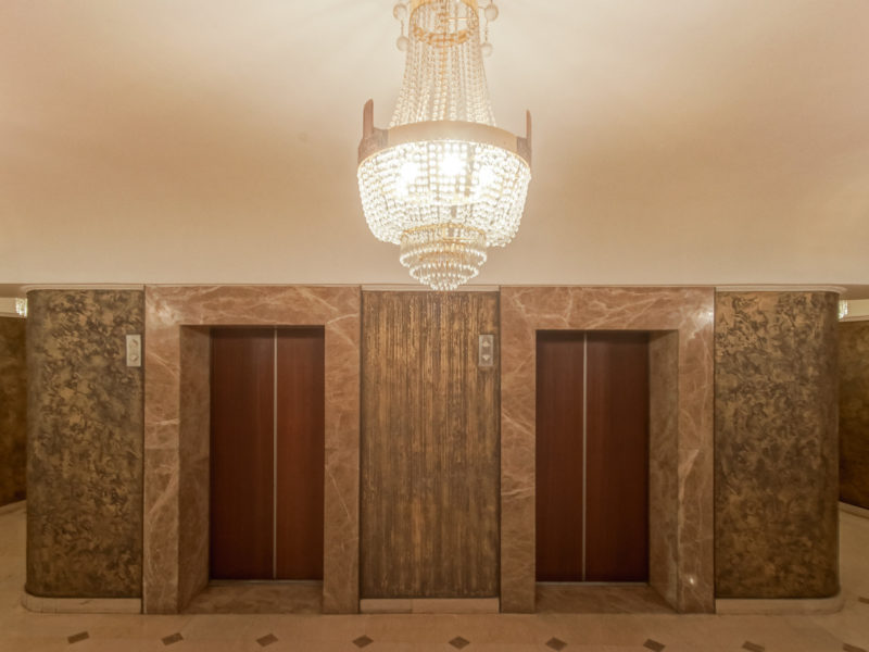 Hotel Kasachstan Almaty Sowjetarchitektur