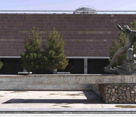 Navoyi Statue Farhod Usbekistan