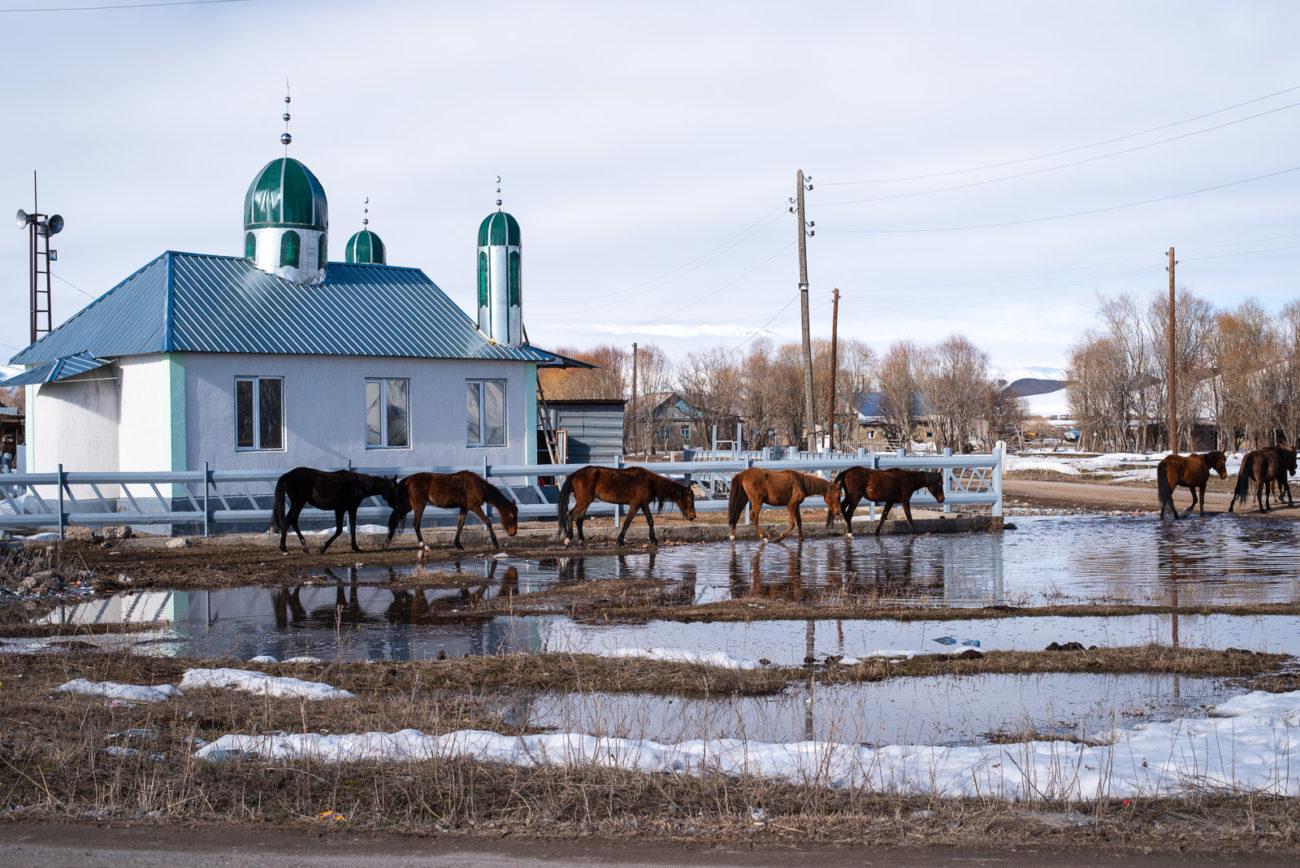 Bild des Tage Dorf Kirgistan Antoine Béguier