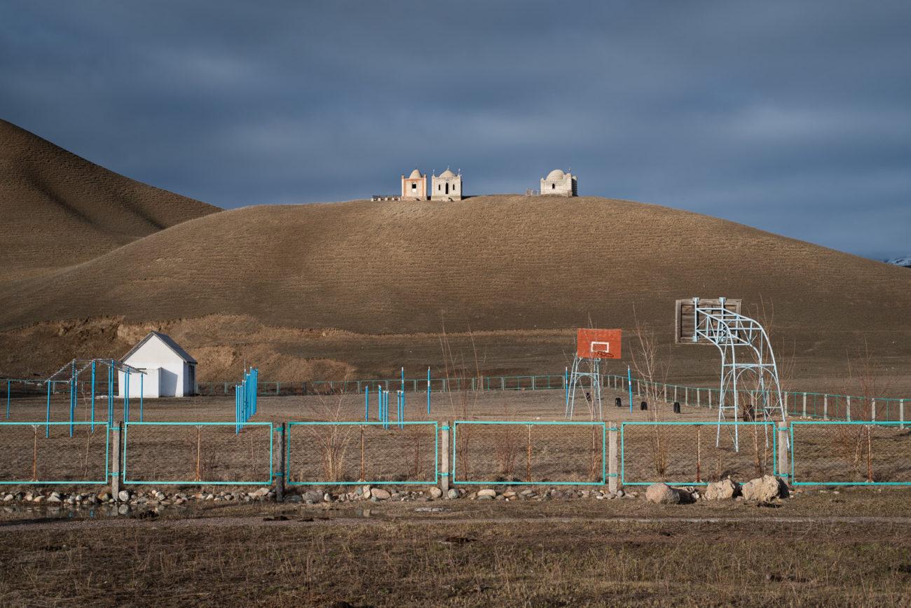Friedhof Hügel Sportanlagen