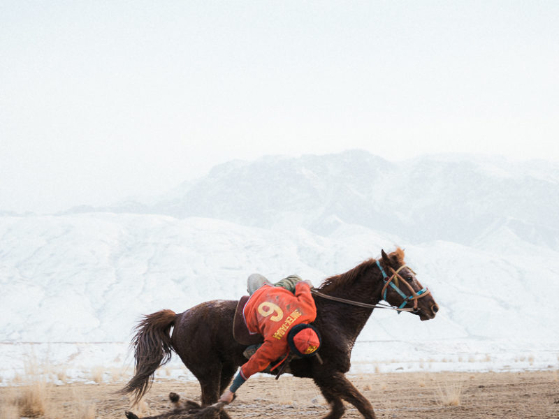 Bild Des Tages Théo Saffroy Kok Boru Sport Kirgistan