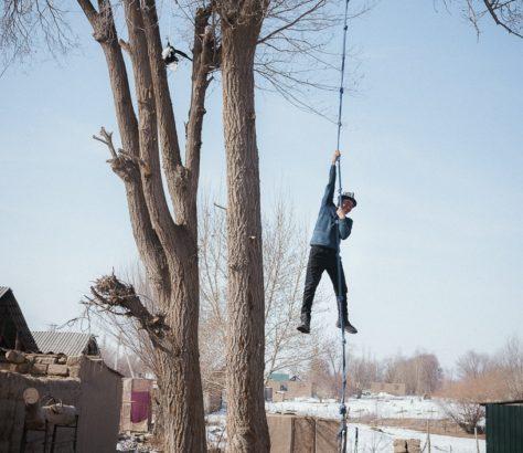 Kirgistan Kök Boru Théo Saffroy Training Sport