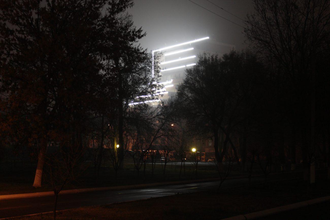 Usbekistan Taschkent Stanislav Magay Nacht