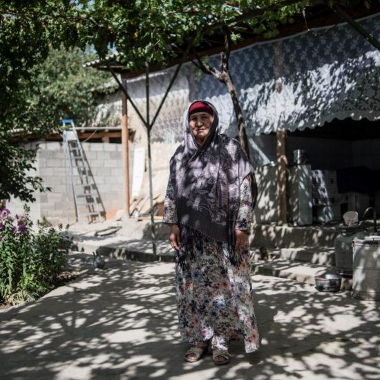 Mutakalim Kirgistan Aravan Danil Usmanov Portrait