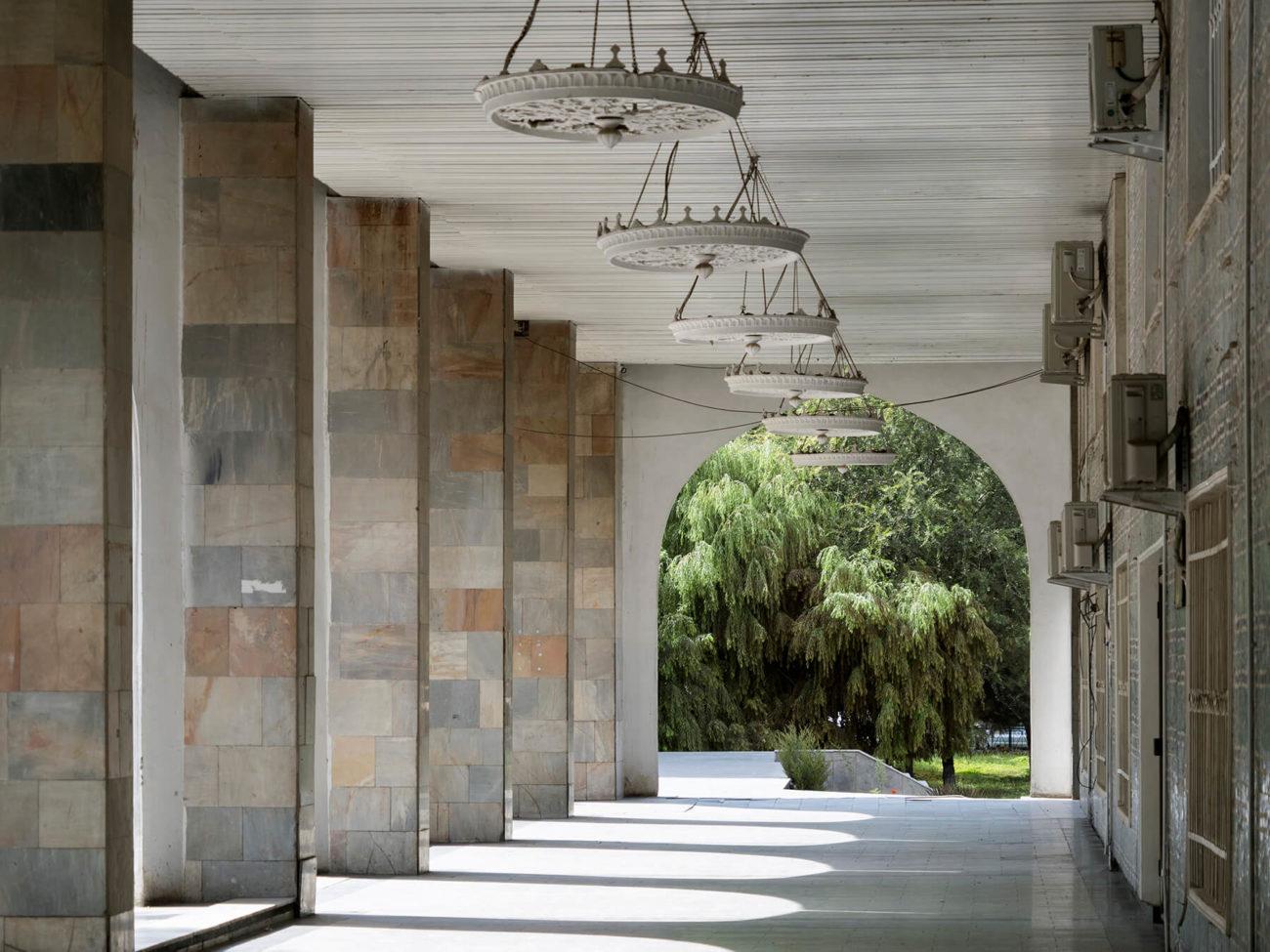 Ausstellungshalle Akademie der Künste Taschkent Usbekistan