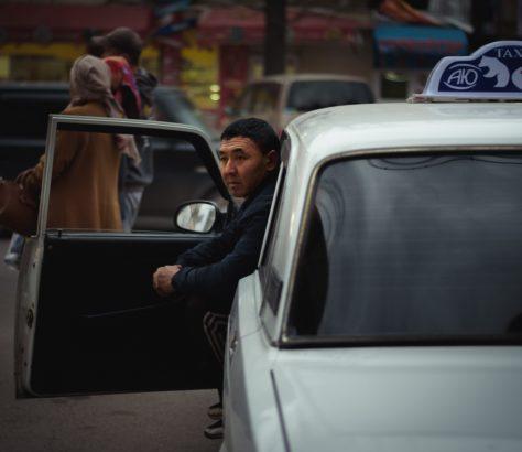 Bild des Tages Antoine Béguier Kirgistan Bischkek Taxi