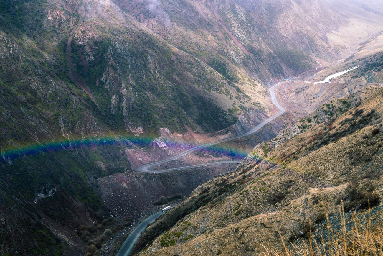 Töö-Aschuu Pass Kirgistan Gebirge Antoine Béguier